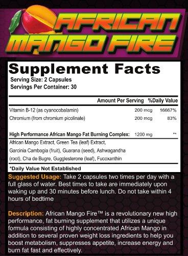 ... Mango Fat Burning Supplement w/ Garcinia Cambogia, Best All-Natural