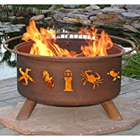 Atlantic Coast 31-inch Fire Pit with Gri...
