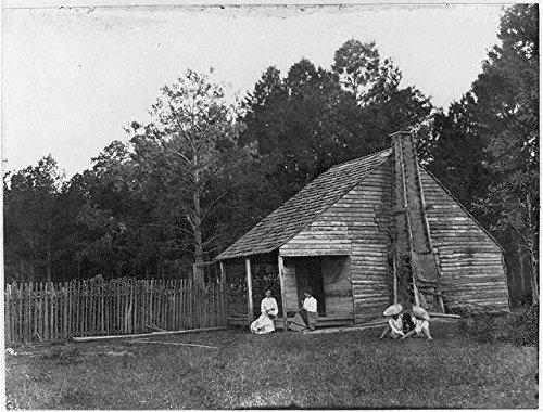 Creole home near Jennings, Louisiana