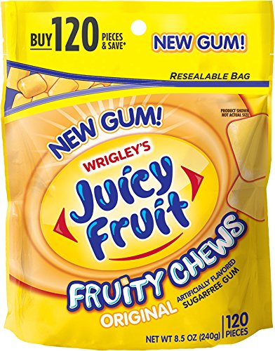 Juicy Fruit Fruity Chews, Original, 8.5 Ounce (Juicy Fruit Gum compare prices)