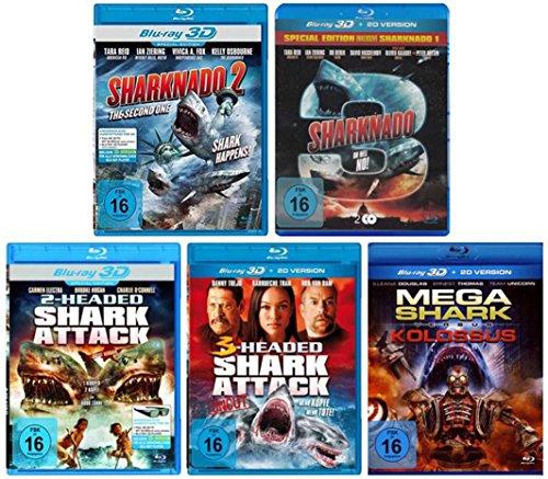 Best of Shark Collection - 3D Blu-ray ( incl. Sharknado 1-3 und 2+3 Headed Shark Attack )