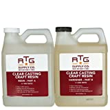 RTG Clear Casting Craft Resin (2-Quart Kit) (Tamaño: 2-Quart Kit)