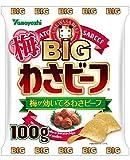 山芳製菓 ポテトチップス BIG梅わさビーフ 100g×5袋