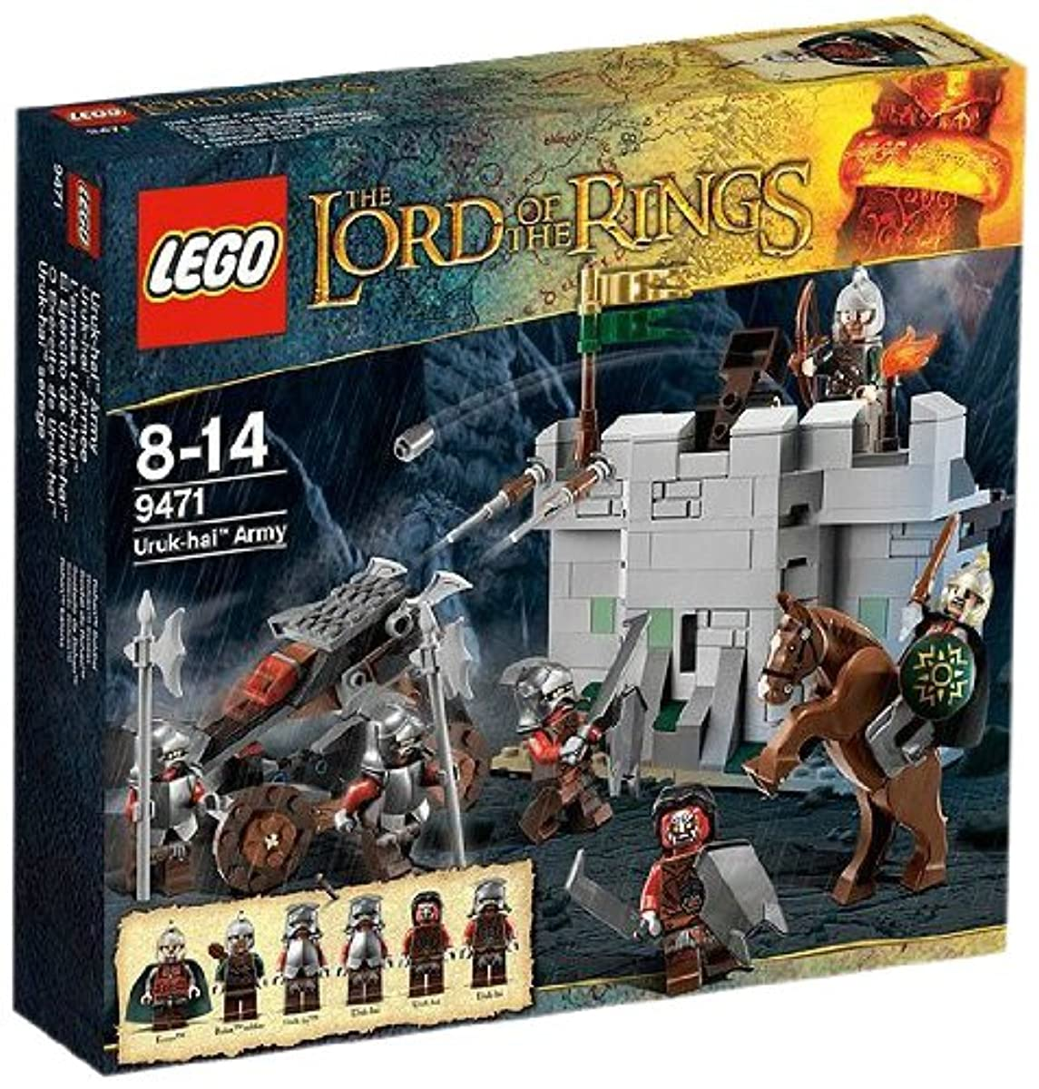 [해외] 레고 (LEGO) 반지의 제왕 우루쿠=하이군 9471-4653953 (2012-07-13)