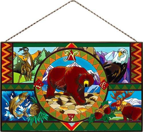 joan-baker-designs-ap392-wild-america-glass-art-panel-10-by-16-inch