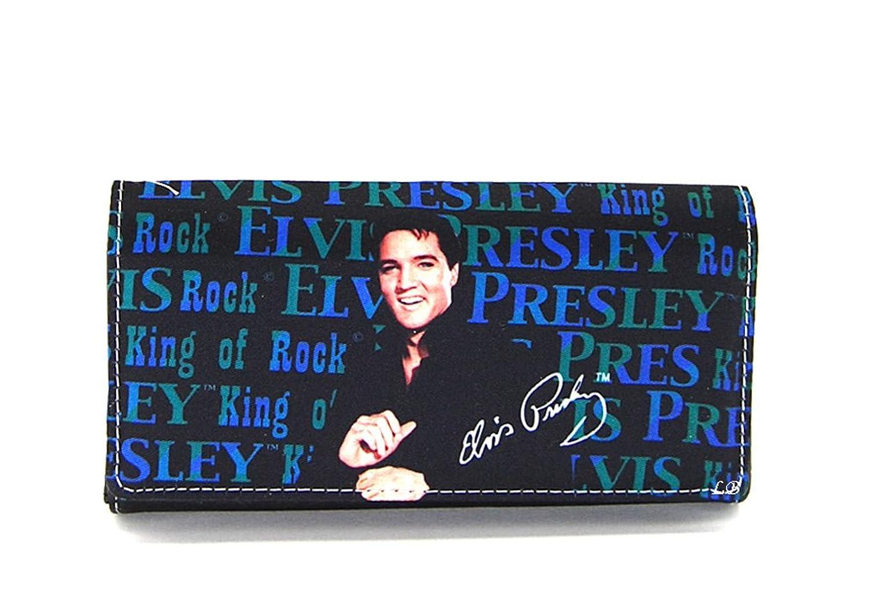Elvis Presley Wallet - Long Wallet-king of Rock EB90-1 wallet modalu wallet