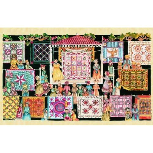 Cheap SunsOut Jeri Landers The Quilting Show Circuit 1000 Piece Jigsaw Puzzle (B002NCE69Y)