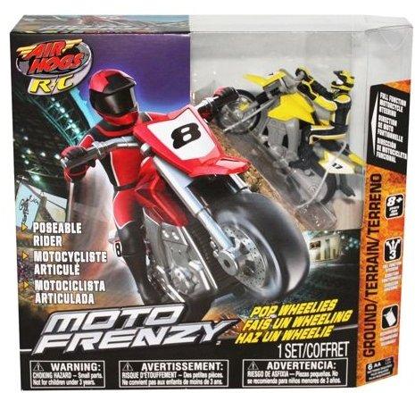 Air Hogs XS Motors Yellow Moto Frenzy Stunt Bike Ch C