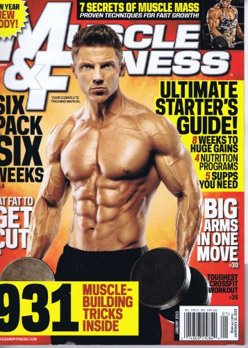 Muscle & Fitness [US] January 2013 (単号)