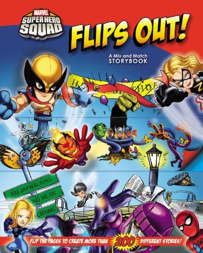 SUPER-HERO-SQUAD-FLIPS-OUT-A-MIX-AND-MATCH-BOOK-BRAND-NEW