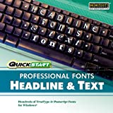 Quickstart: Fonts - Headline & Text [Download]