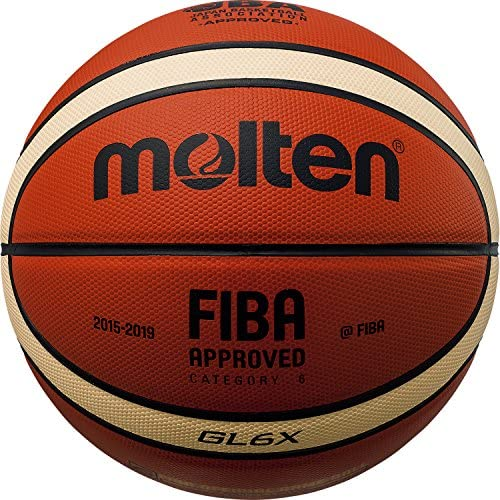 몰 텐(몰 텐) 농구 GL6X 6 호공 BGL6X (Size:6 호공|Color:오렌지×아이보리)