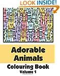 Adorable Animals Colouring Book (Volu...