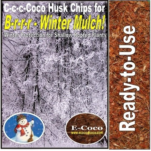 40 LITRES -WINTER-PLANTS-MULCH-BARK-COIR-COCONUT-HUSK-BARK-CHIPPINGS-BARKS from E-Coco Products UK