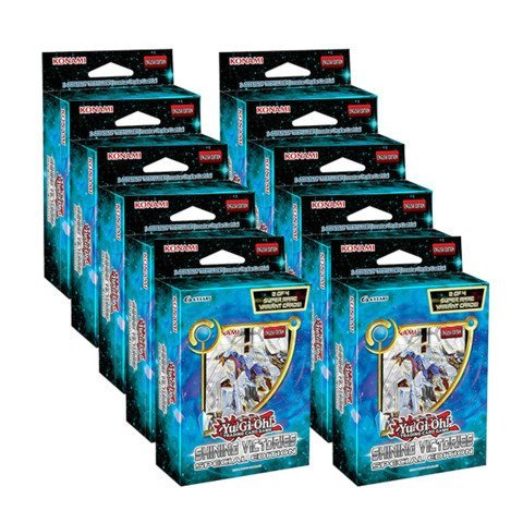 Shining Victories - Special Edition - Display Box (10 ct) (Yugioh Display Case compare prices)