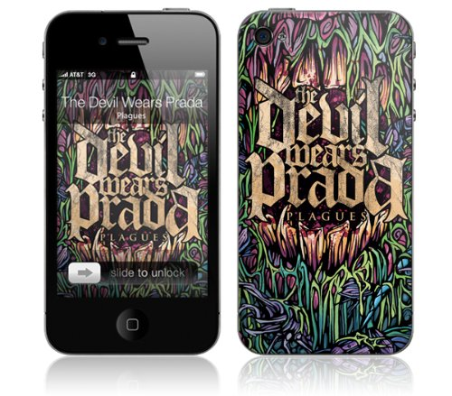 Zing Revolution MS-DWP10133 The Devil Wears Prada - Plagues Cell Phone Cover Skin For iPhone 4/4S (Devil Wears Prada Phone Case compare prices)