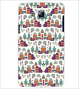 PrintDhaba Pattern D-2182 Back Case Cover for SAMSUNG GALAXY ON 5 (Multi-Coloured)