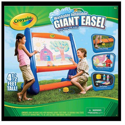 Crayola Washable Inflatable Easel