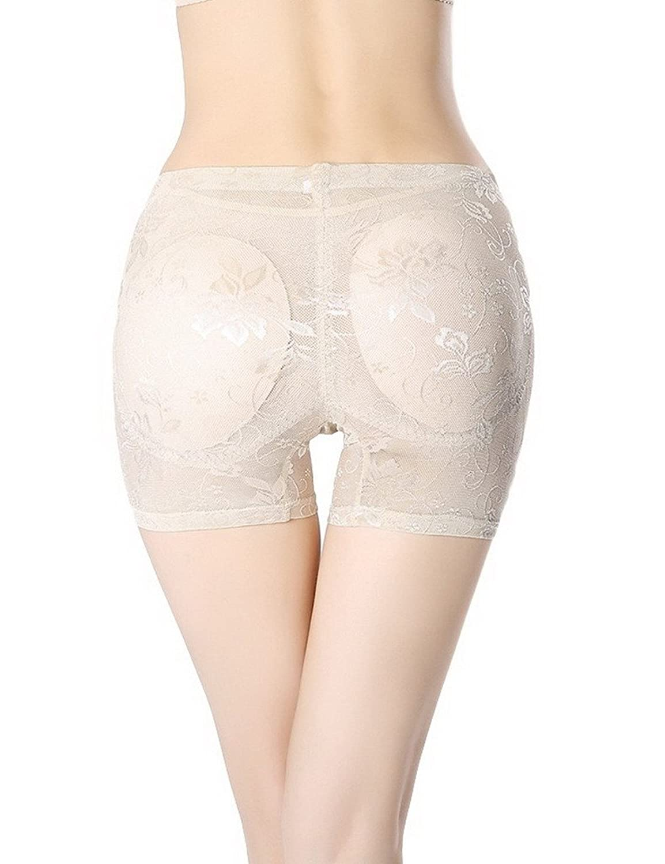 Bigood 1*Figur-Body Frauen Damen Miederpants Body sculpting Unterwäschemit Profil viereckig Shorts Schwarz
