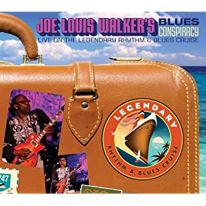 "Featured recording ""Blues Conspiracy: Live on The Legendary Rhythm & Blues Cruise"""