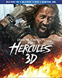 Hercules (Blu-ray 3D + Blu-ray + DVD + Digital HD)