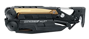 LEATHERMAN - MUT EOD Multitool with Firearm and EOD Tools for Technicians, Black with MOLLE Black Sheath (FFP) (Color: Black, Tamaño: Molle Black Sheath)