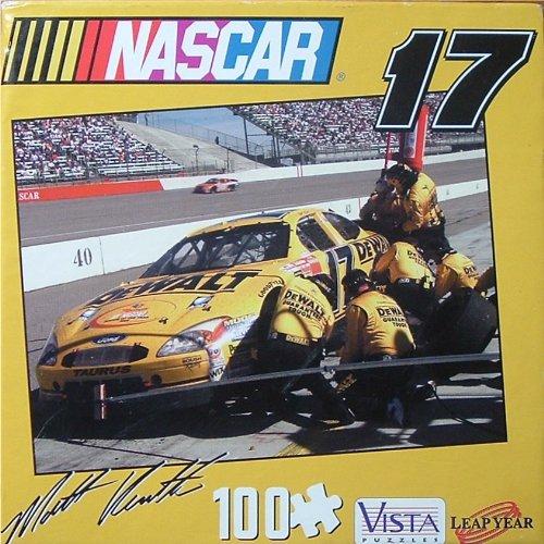 NASCAR Jigsaw Puzzle - Various Racing Car Depictions - 1