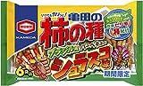 亀田製菓 亀田の柿の種シュラスコ味6袋詰 182g×6袋