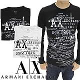 アルマーニエクスチェンジ(ARMANI EXCHANGE)メンズ ロング サーマル Tシャツ ロンT