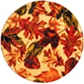 Andreas Silicone Trivet, Fall Leaves, 8 Inch