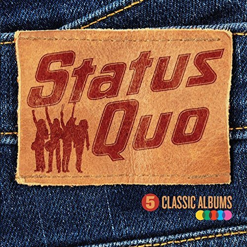 5 Classic Albums by STATUS QUO (2013-08-03)