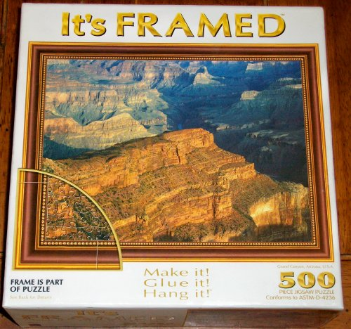 It's Framed - Grand Canyon, Arizona 500 Pc. Jigsaw Puzzle