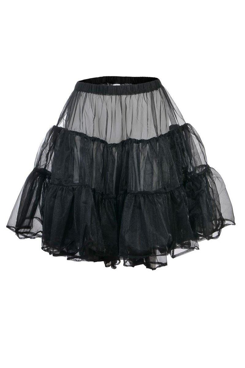 Damen Petticoat in schwarz jetzt bestellen