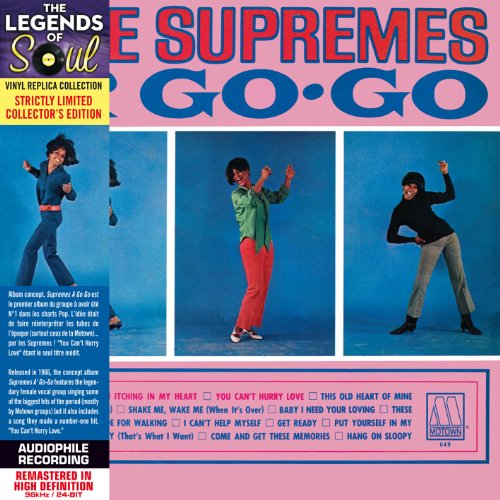 Supremes A Go Go - Paper Sleeve - CD Deluxe Vinyl Replica