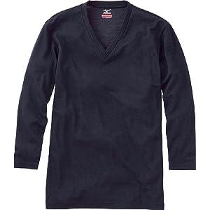 (ミズノ)MIUZNO ブレスサーモエブリVネック長袖シャツ 75CM401