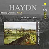 Haydn: String Quartets Vol. 8 Quartets Op. 50 No. 2, 3 & 6