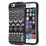 【販売記念価格限定100個】Drool iPhone6s アイフォン6 ケース カバー 耐衝撃 ボヘミアン 柄 オルテガ柄 放熱 滑り止め おもしろ スマホケース (iPhone6/6s, TYPE-3)