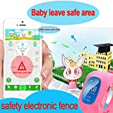 GBD-GPS-Tracker-Smart-Watch-for-Kids-with-Sim-Card-Smartwatch-Phone-Anti-lost-Finder-SOS-Gprs-Children-Fitness-Tracker-Wrist-Watch-Bracelet-with-Pedometer-Parents-Control-App-for-SmartphoneGreen
