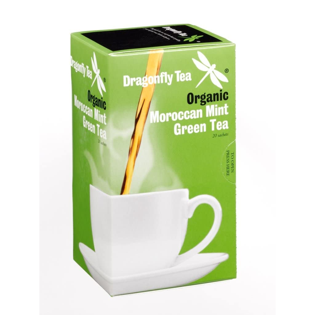 Dragonfly Moroccan Mint Green Tea