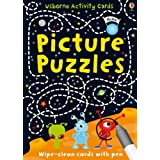 Picture Puzzles (Usborne Puzzle Cards)by Sarah Khan