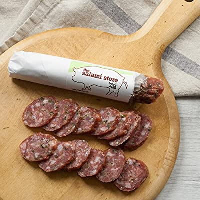 Uncured Jalapeno Salami by Zoe's Meats (8 ounce)