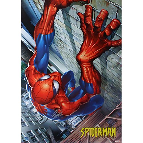 Stan Lee Spider Man Climbing 24x36 Poster ( Stan Lee Auth)