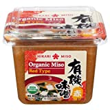 Hikari ORGANIC Red Miso Paste - 1 tub, 17.6 oz