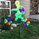 Home-X® Garden Wind Spinners - Bicycle Frog and Turtle (Turtle)