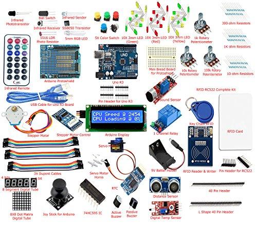 Frentaly-Super-Value-Ultimate-UNO-R3-Starter-Kit-SK1-for-Arduino-Stepper-Servo-Motor-Relay-RTC-RFID-Display-kit