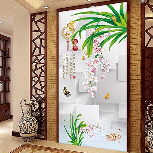 adherer-a-lentree-pour-decorer-les-murs-des-affiches-petit-canape-romantique-respectant-les-peinture