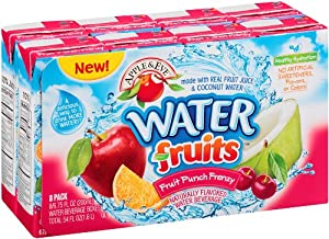 Apple & Eve Water Fruit Juice, Fruit Punch Frenzy, 6.75 oz. 8 Count (Pack of 5)