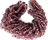 Sumit Beautiful Synthetic Pink Amethyst Chips Beads Strands,Jewelry Making Chips,34