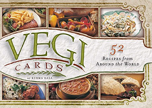 VEGI CARDS BOX: 52 Recipes from Around the World