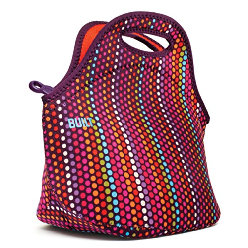 Neoprene Lunch Tote, Micro Dot